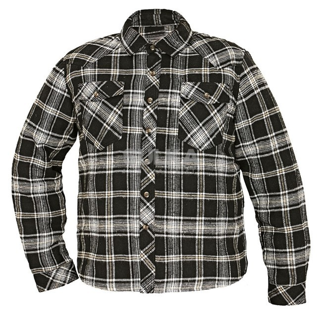 pánska flanelová zateplená košeľa Legga
