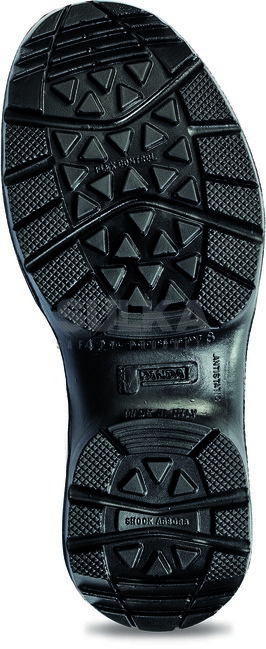 1afe6d01a1 Kvalitná bezpečnostná členková topánka s kovovou špicou a podrážkou odolnou  voči prepichnutiu. Polyuretánová PU