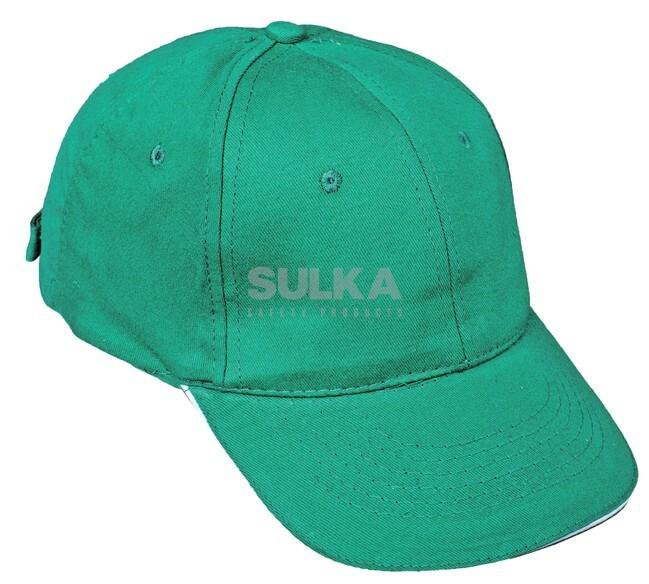 fce36fb3e TULLE BASEBALLOVÁ ČIAPKA ZELENÁ-BIELA Obľúbená šiltovka zelenej farby  vyrobená zo 100% česanej bavlny