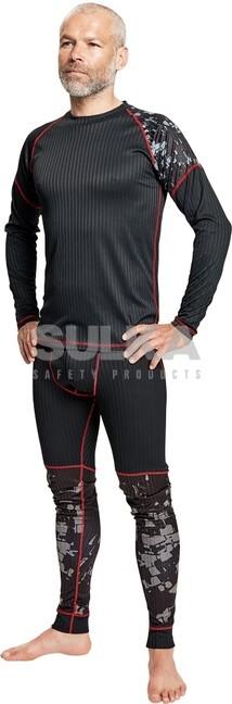 2e83e9c00ee8b Funkčné tričko čiernej farby s dlhým rukávom a potlačou Assent vyrobené z  95%polyesteru a · OTAIO TERMO TRIČKO ČIERNE ASSENT 0309003760
