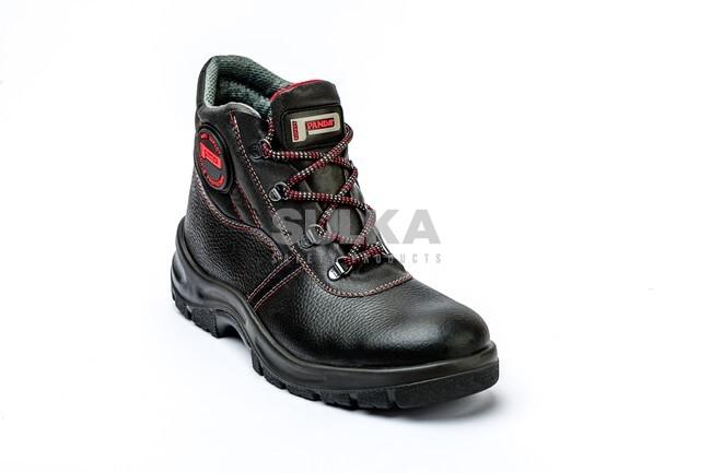 Bezpečnostná členková obuv s oceľovou špicou bez podrážky odolnej voči  prepichnutiu. Polyuretánová PU PU. MITO S1 SRC ... 024451c6b7