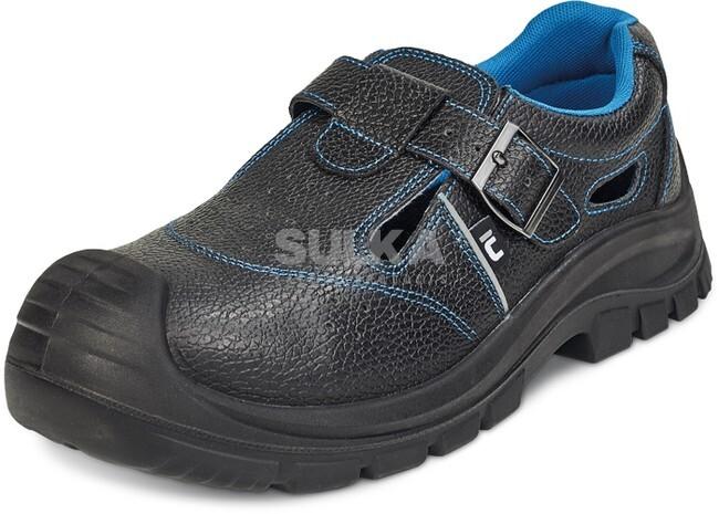 RAVEN XT S1 SRC PRACOVNÉ SANDÁLE 02030111600 Pracovné sandále s oceľovou bezpečnostnou  špicou bez podrážky odolnej ff15c25d11