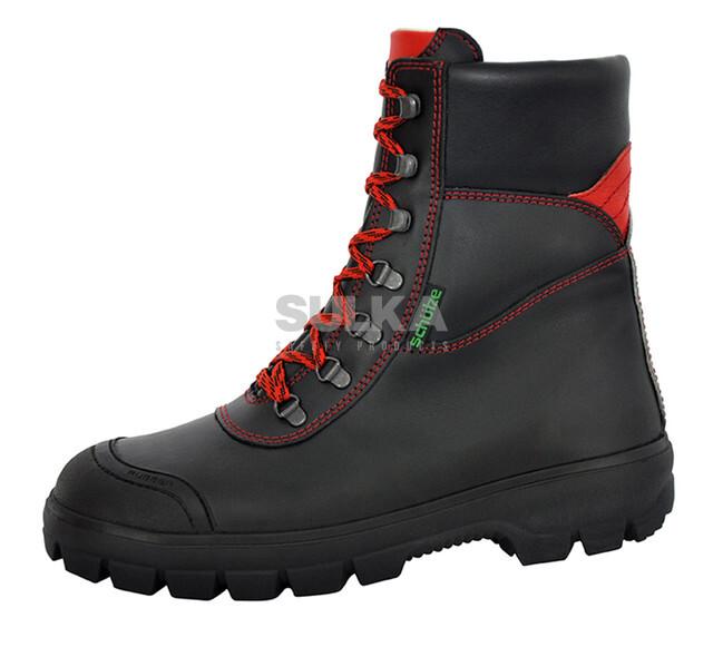 0d2ba989bb7f Profesionálna zateplená vysoká obuv s oceľovou špicou a podrážkou odolnou  proti prepichnutiu. Bezpečnostná podošva je