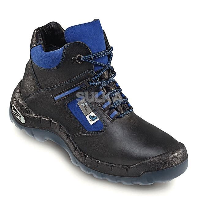 4134309d8 Extra nepremokavá pracovná členková obuv s oceľovou špicou a podrážkou  odolnou proti pretrhnutiu a prepichnutiu.