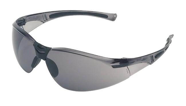 5a98e4843 Bestseller extra ľahké šedé ochranné okuliare tvorené odolným  polykarbonátovým rámom a tvrdeným zorníkom odolným voči nárazu