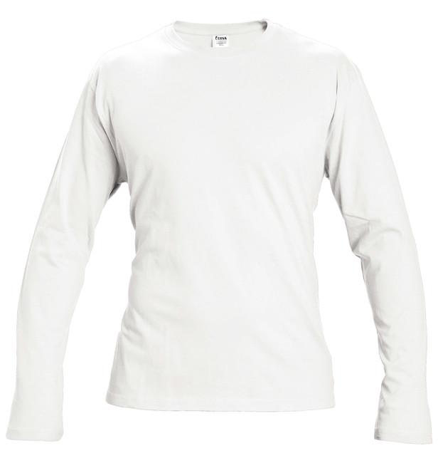 1b956a8a6cfa CAMBON TRIČKO S DLHÝM RUKÁVOM BIELE Obľúbené biele tričko s dlhým rukávom  vyrobené zo 100%