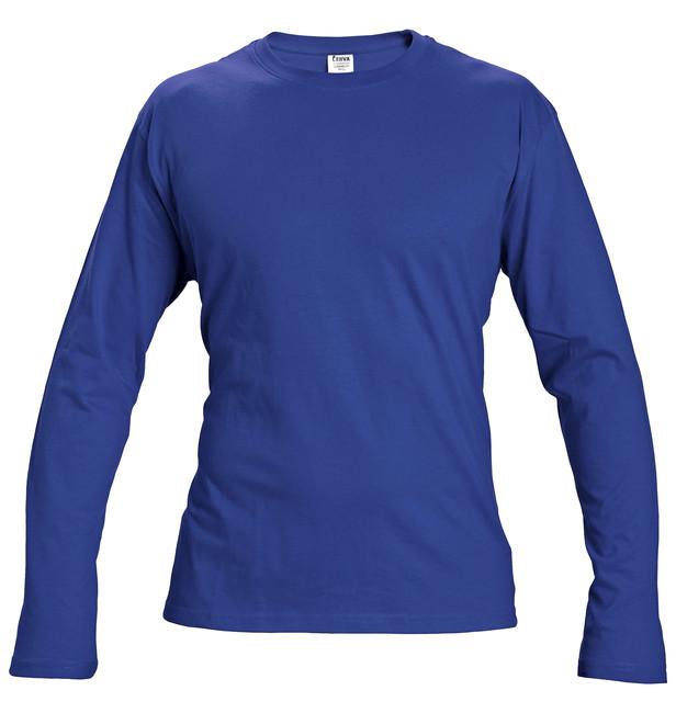 deef2ac90b76 CAMBON TRIČKO S DLHÝM RUKÁVOM KRÁĽOVSKÁ MODRÁ Obľúbené tričko v kráľovskej  modrej farbe s dlhým rukávom