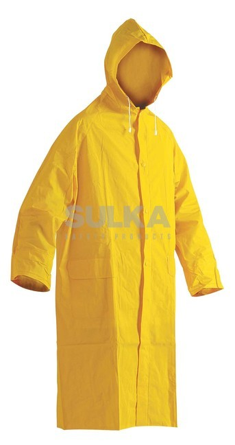 0c1eb02415 CETUS PLÁŠŤ Žltý nepremokavý plášť do dažďa s kapucňou v golieri vyrobený  zo 100% polyesteru · CETUS PRŠIPLÁŠŤ ŽLTÝ ČERVA 0311001370 zväčšiť obrázok