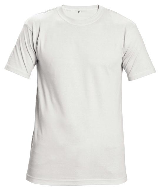 e0f8ed8a04c8 GARAI TRIČKO BIELE Kvalitné biele tričko s krátkym rukávom vyrobené zo 100%  bavlny s nízkym