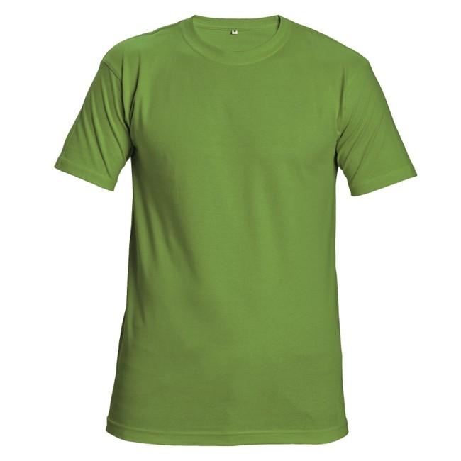 2001e1843a2a GARAI TRIČKO LIMITKOVÉ Kvalitné tričko v limetkovej farbe s krátkym rukávom  vyrobené zo 100% bavlny