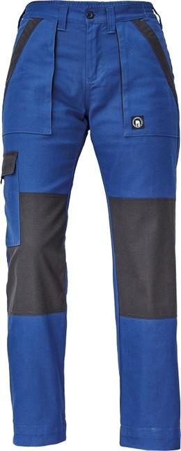 544ea4c616f1 MAX LADY NOHAVICE Modro-čierne dámske pracovné montérkové nohavice vyrobené  zo 100% kvalitnej bavlny