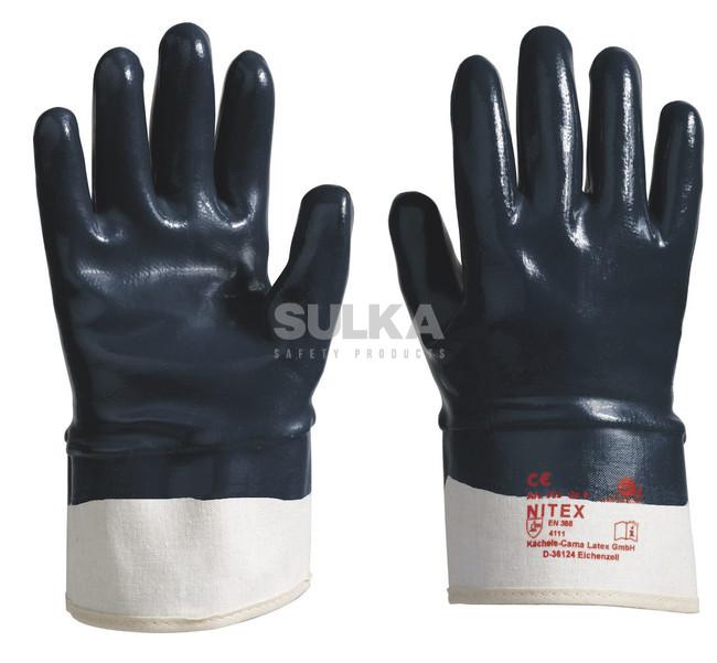 bdcf656ff94 NITEX 309+ Veľmi odolné pracovné rukavice tvorené vo vnútornej časti  bavlnou a povrstvené silnou vrstvou