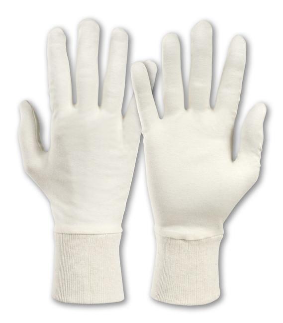 7ca95a22760 SAHARA TRICOT 101 kvalitné textilné rukavice z jemného bavlneného úpletu  béžovej farby. Výrobca Honeywell.